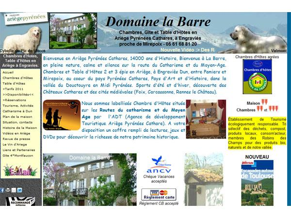 Chambres d'Hotes Domaine la Barre - Ariège