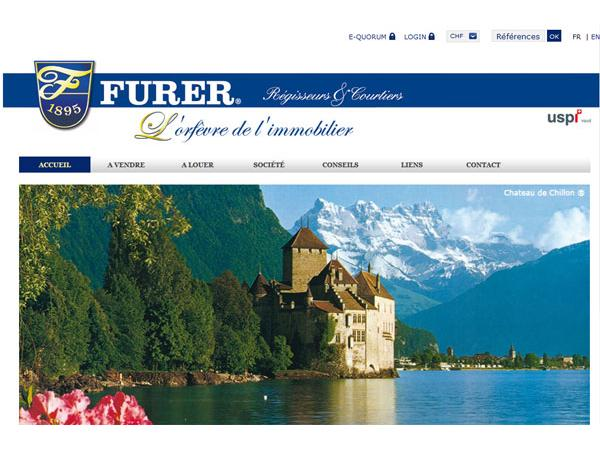 Immobilier Suisse Furer Immobilier