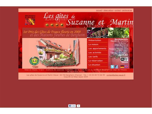 Weyer gites en Alsace
