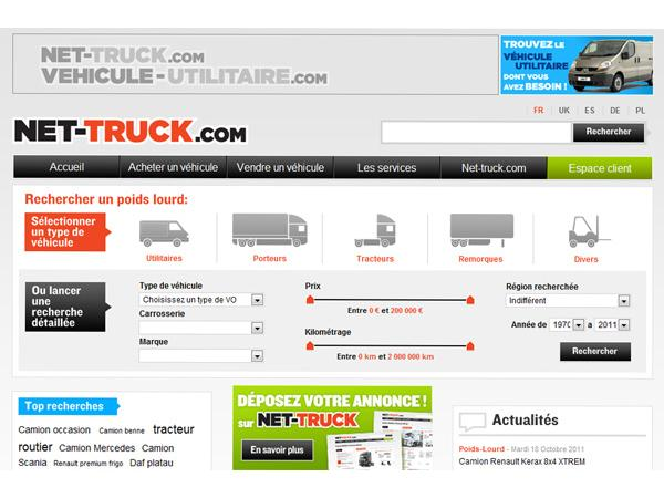 Net-truck - Camions d'occasion