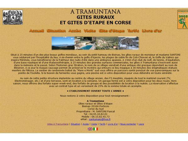 Gites en Corse