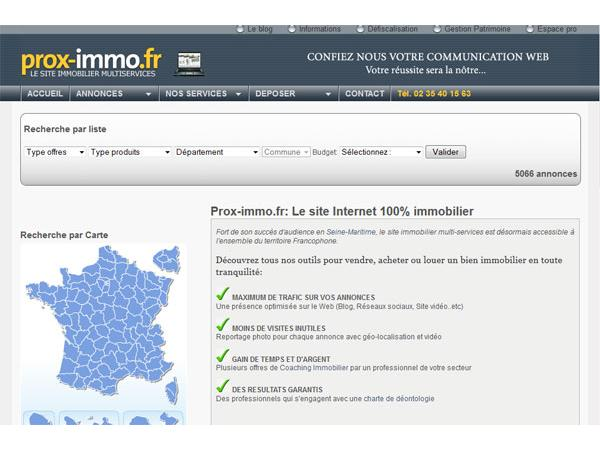Prox-immo - Immobilier Seine Maritime