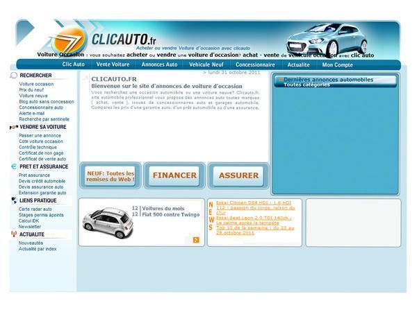 Clic Auto : Petites annonces automobiles