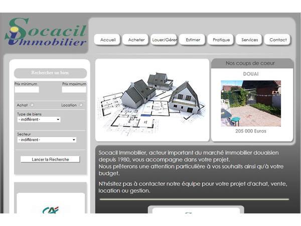 Socacil Immobilier - Douai