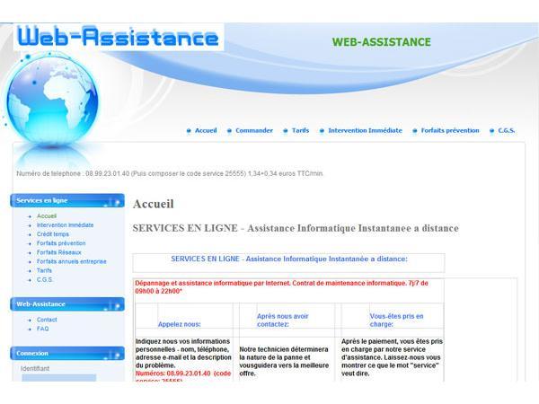 Web-assistance