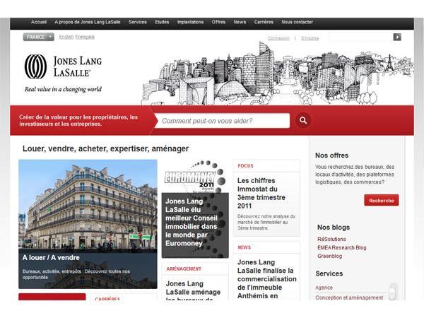 Jones Lang LaSalle : Conseil en Immobilier d'Entreprise