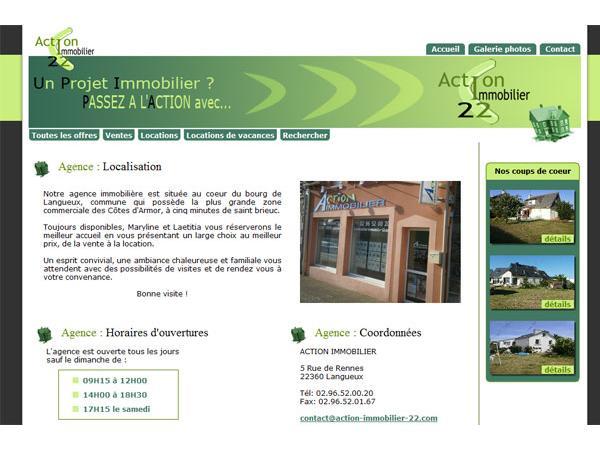 Action Immobilier Langueux St Brieuc et région Bretagne