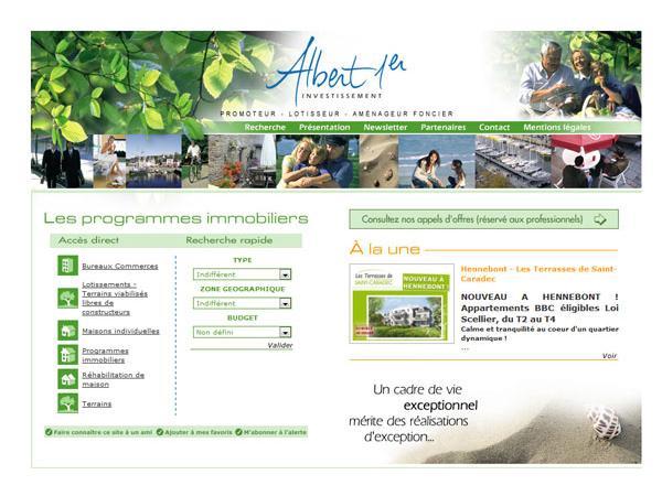 Albert 1er - investissement immobilier à Vannes