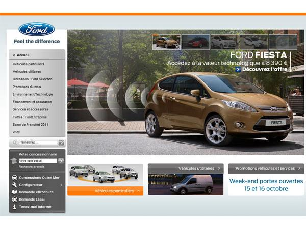 Le site officiel de Ford France