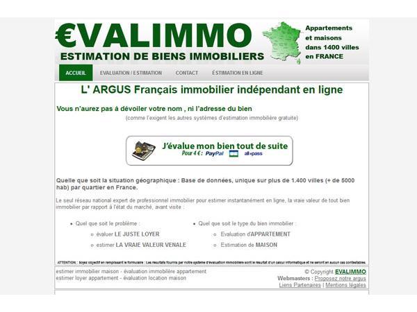 Evalimmo : evaluatiuon immobilière