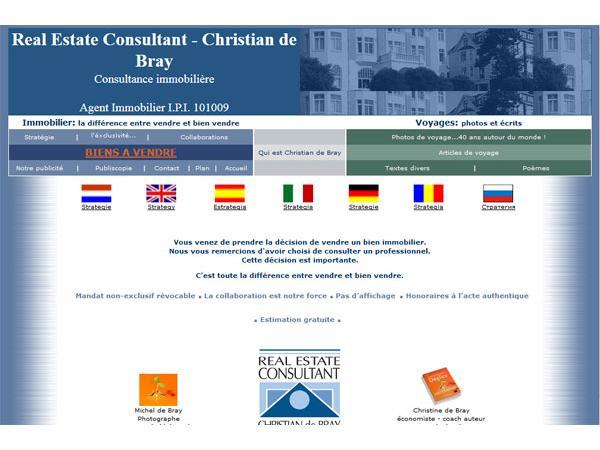 Immobilier Belgique - Agence Christian de Bray