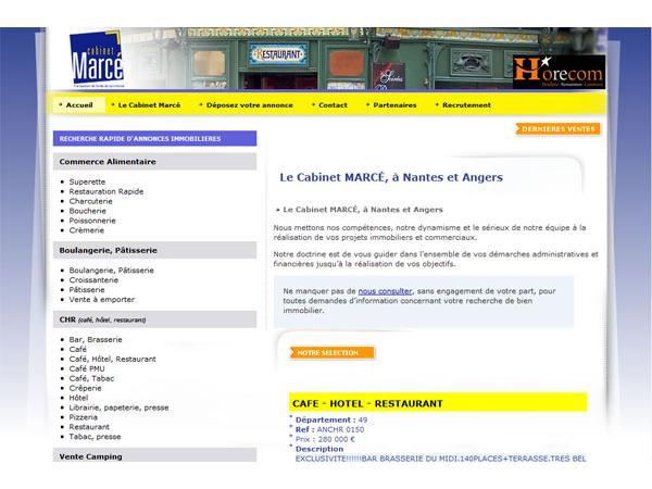 Cabinet Marcé - transactions immobilières - Nantes